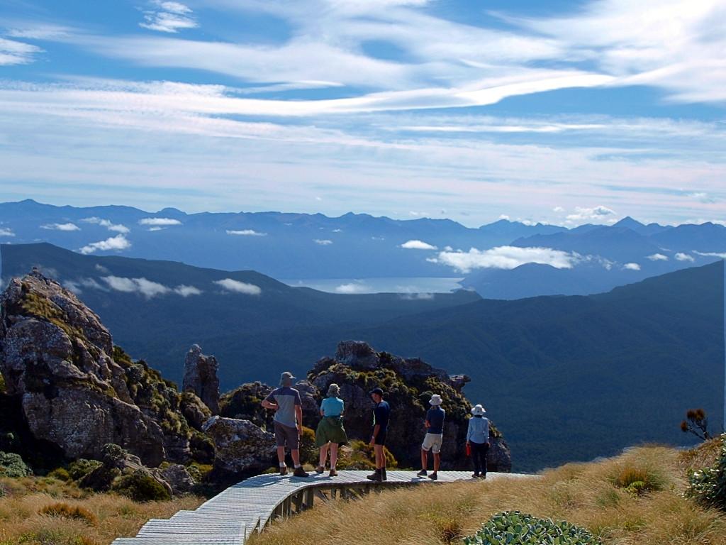 Hump Ridge Track ~ View to the Lake