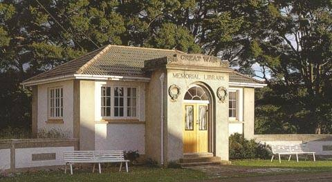 Waiau Memorial Library 1987